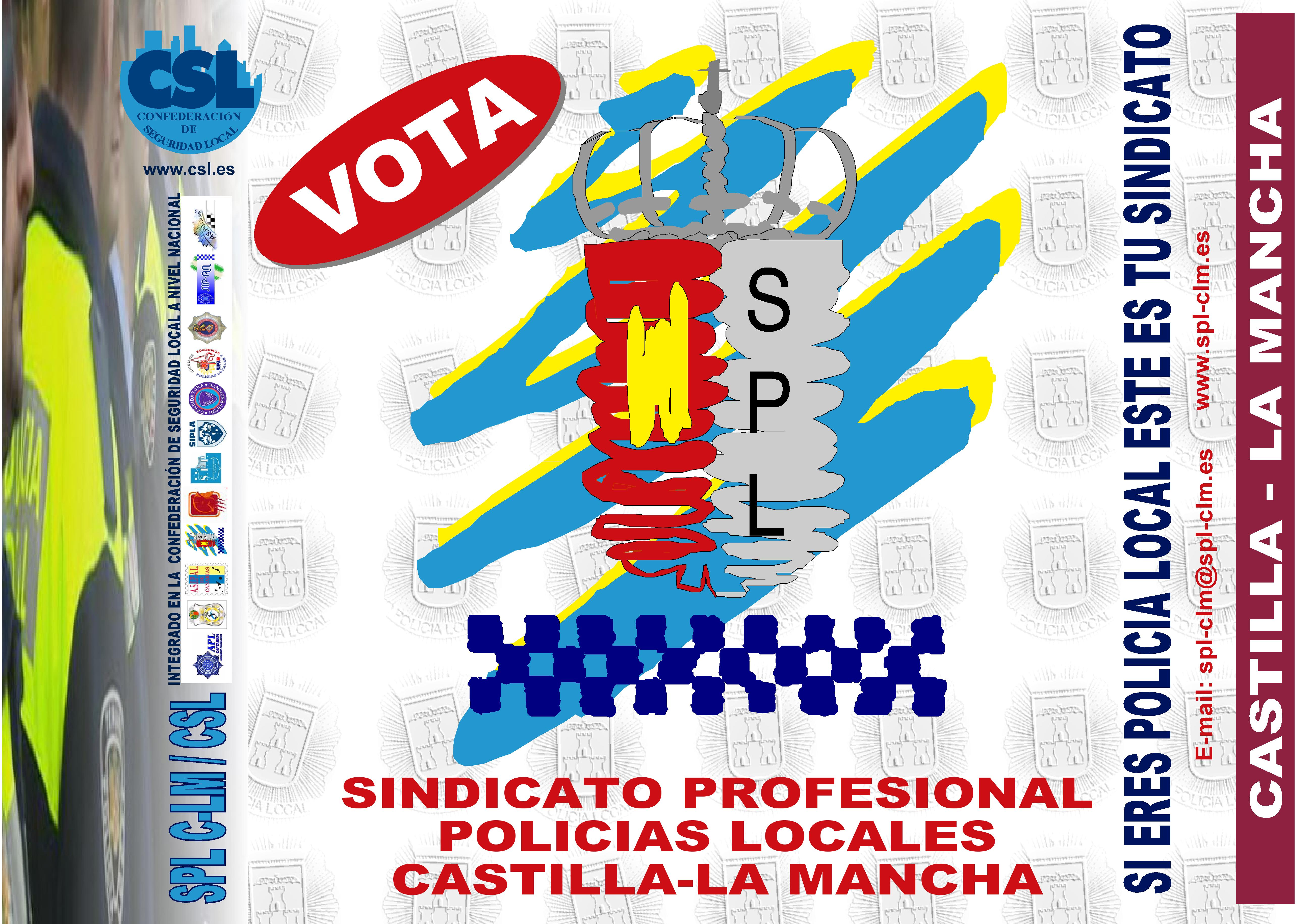 CARTEL ELECCIONES 2011 VOTA SPL ESCUDO