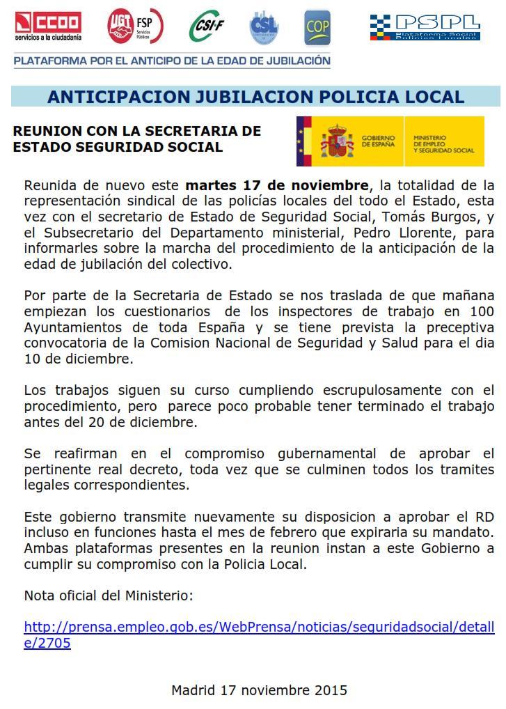 COMUNICADO 17 NOV PLATAFORMAS ANTICIPACION JUBILACION