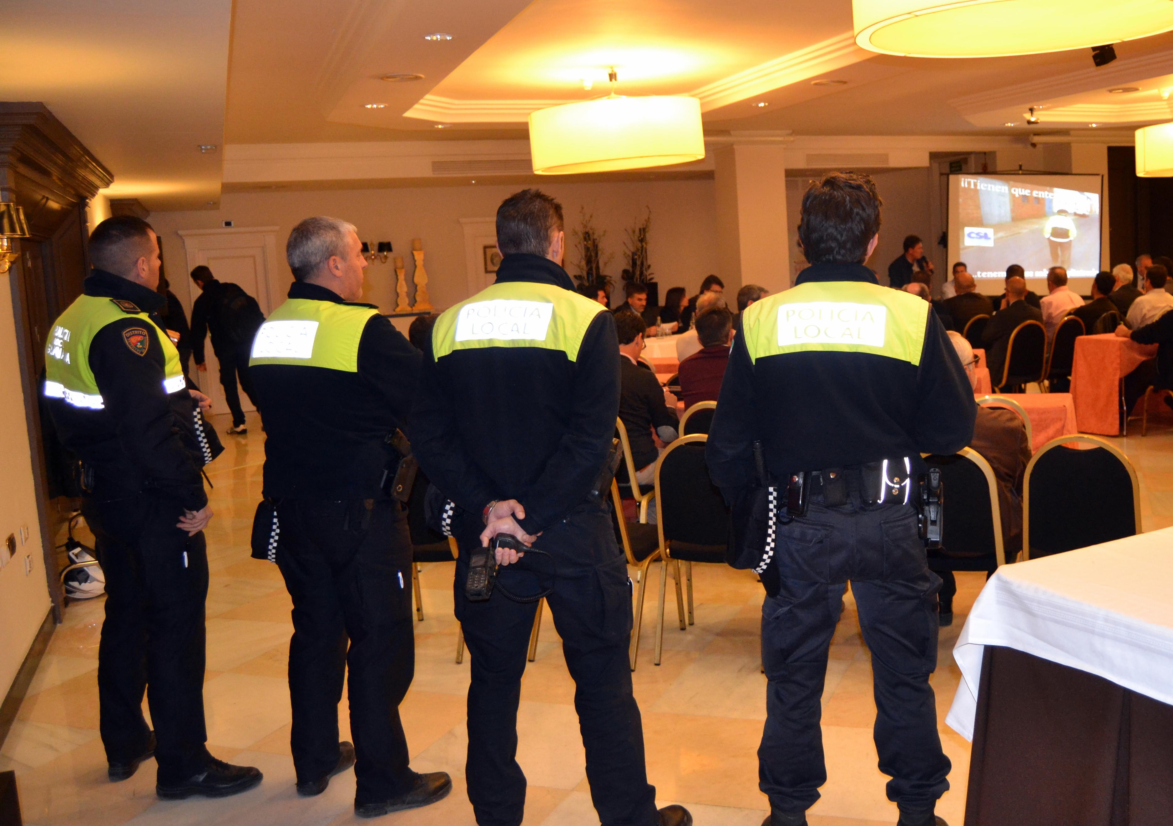 POLICIAS ASISTENTES
