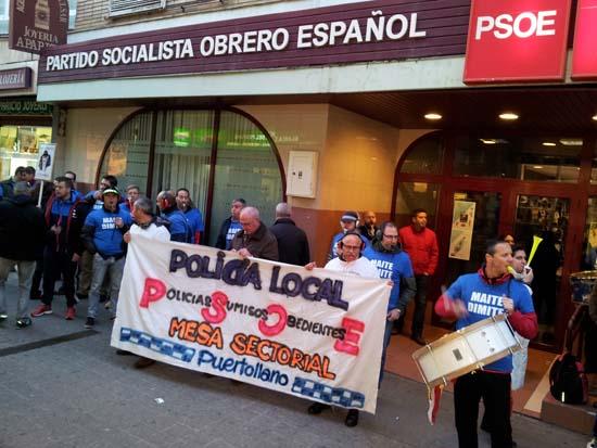 PROTESTAS 26 MARZO 2015 policon2