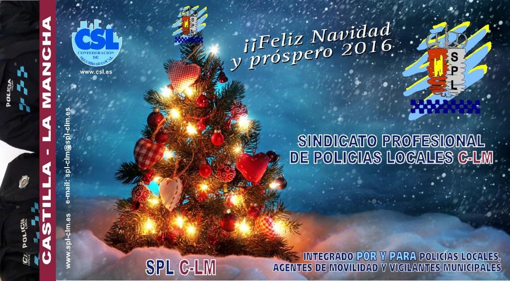 TARJETA DE NAVIDAD SPL CLM 2015